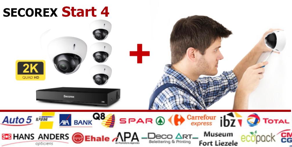 Camerabewaking pakket start 4 2